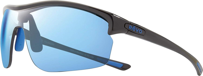 Revo Womens Polarized Sunglasses Edge Shield Frame 72 mm