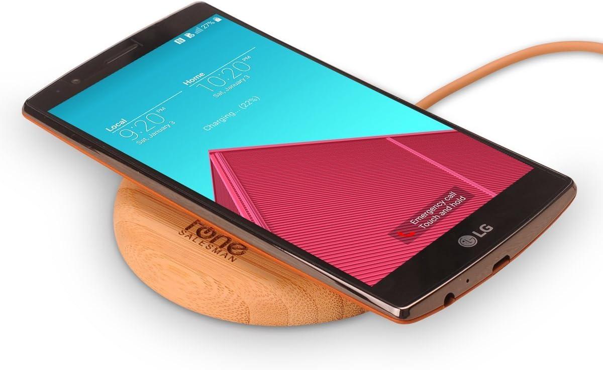 Fonesalesman G4 SlimPWRpatch - Módulo Receptor para Carga inalámbrica Qi para LG G4