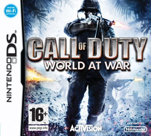 Call of Duty: World at War - Nintendo - Duty Call Games Ds