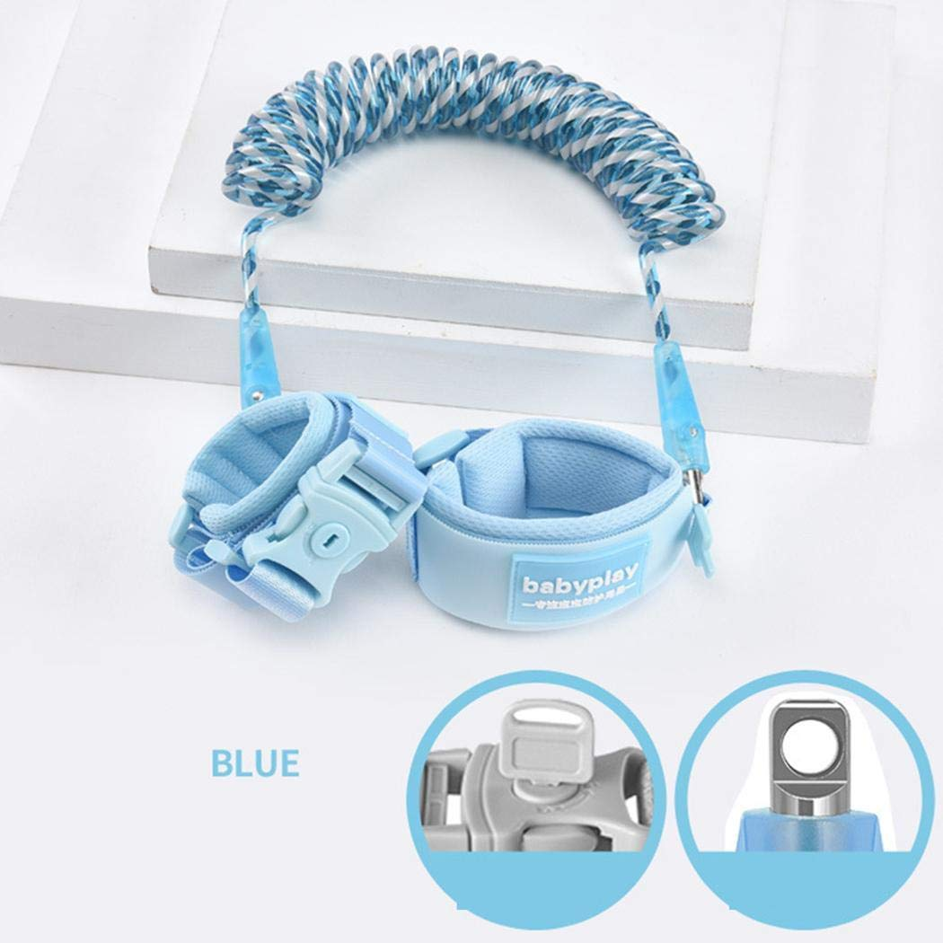 ICCUN Kids Safety Harness Children Leash Wrist Link Anti-Lost Traction Rope Harnesses & Leashes by ICCUN (Image #4)