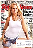 * THE COUNTRY ISSUE * Miranda Lambert, Eric Church, Keith Urban, Brad Paisley - Rolling Stone Magazine