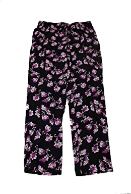 Alfani Womens Printed Tie Close Pajama Bottoms
