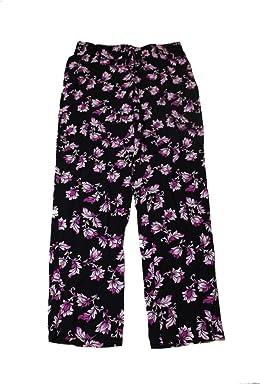 Alfani Womens Printed Tie Close Pajama Bottoms