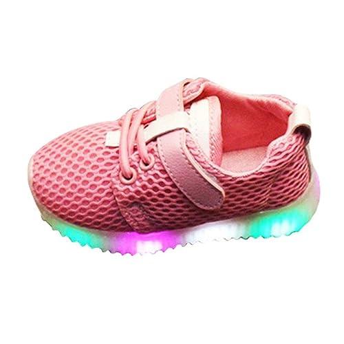 Kinder Sportschuhe Jungen Mädchen LED Leuchten Schuhe