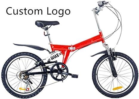 JINHH Bicicleta Plegable para niños Hombres y Mujeres Bicicleta ...