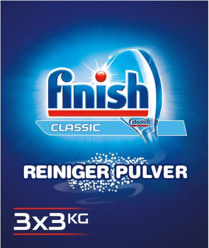 Finish Power Powder – Polvo para Lavavajillas: Amazon.es: Salud y ...