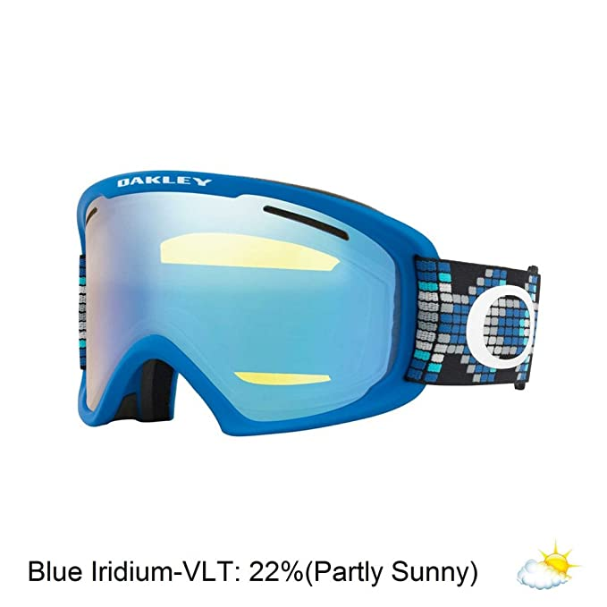 1c535e836c Oakley Goggle Men O Frame 2.0 Xl Digi Snake Iron Blue  Amazon.co.uk  Sports    Outdoors