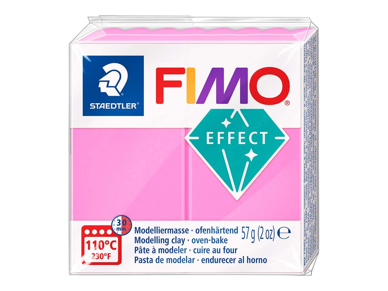 FIMO Effect 57g Neon Pink, 8010-201
