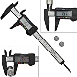 Digital Electronic Caliper LCD Inch Metric Fractions Conversion Measuring Tool