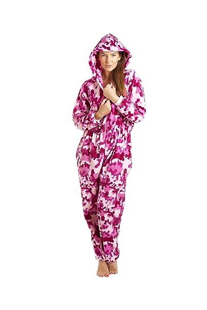 Camille - Pijama de una pieza - para mujer rosa rosa