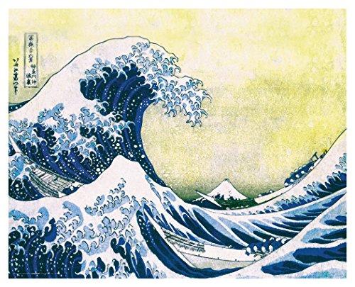 - Culturenik Katsushika Hokusai The Great Wave Japanese Fine Art Poster Print, Unframed 16x20