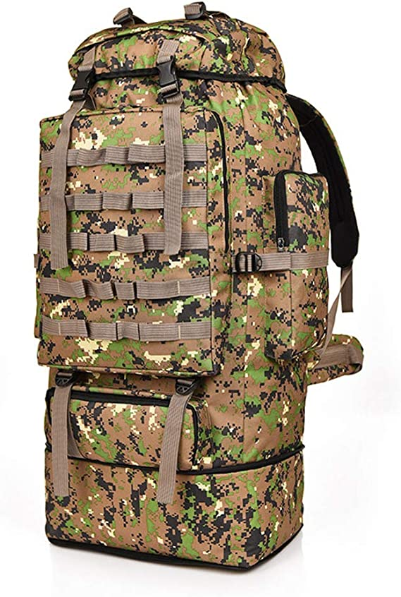 Lixada Military Tactical Backpack 100L Army Assault Pack Molle Bag Backpacks