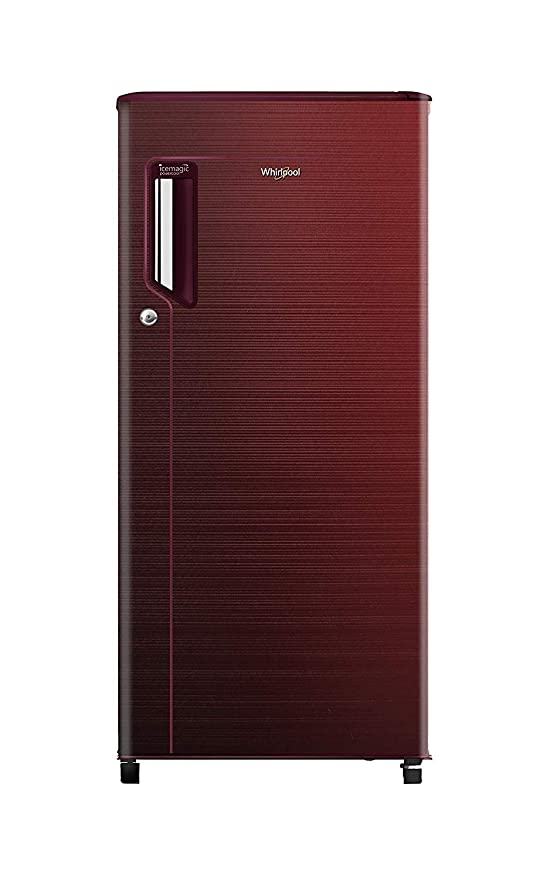 Whirlpool 185 L 3 Star Direct Single Door 200 Ice Magic Power Cool PRM 3S Refrigerator  Chromium Wine  Refrigerators