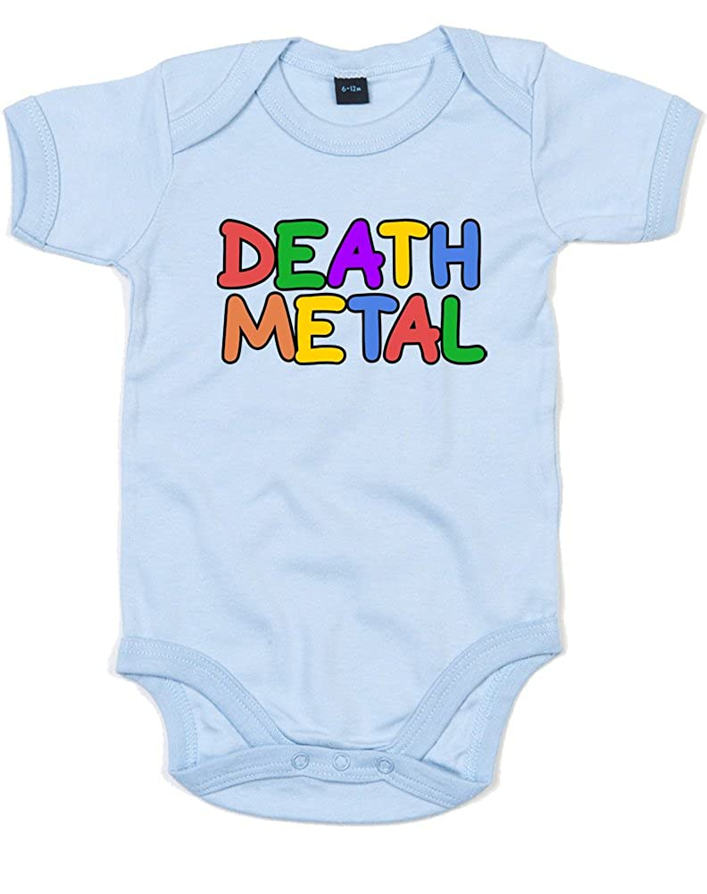 Death Metal, Printed Baby Grow BZ10_AC066
