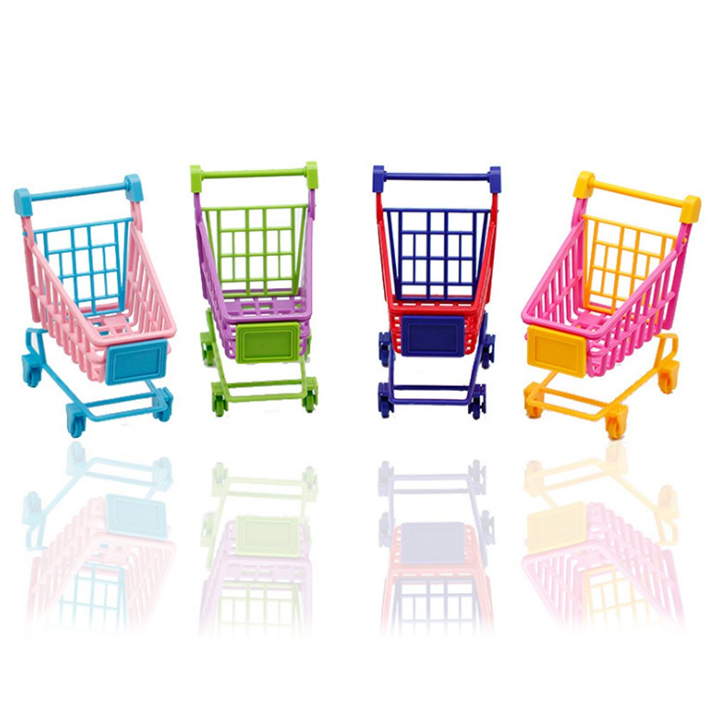 Rocita Mini Einkaufswagen Supermarkt Handkarren: Amazon.de: Computer ...