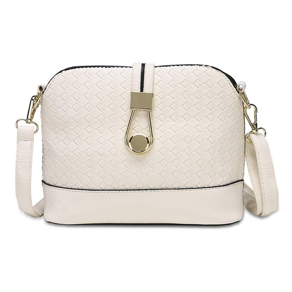 JSXL handtasche Damentaschen Pu Umhängetasche Reißverschluss Weiß Weiß Weiß Schwarz   Silberhandtasche Handtaschen Tasche Clutches Koffer Umhängetasche B07HY3F2XN Umhngetaschen Haltbarkeit aa597b