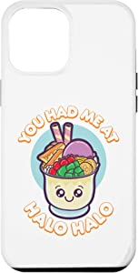 iPhone 12 Pro Max You Had Me At Halo Halo Philippines Filipino Food Gift Phone Case