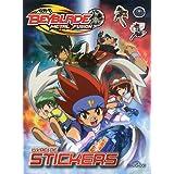 Livre de stickers Beyblade Metal Fusion