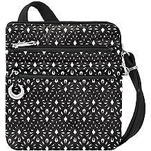 Travelon Women's Anti-Theft Boho Slim Bag Travel Purse, Geo Shells, One Size