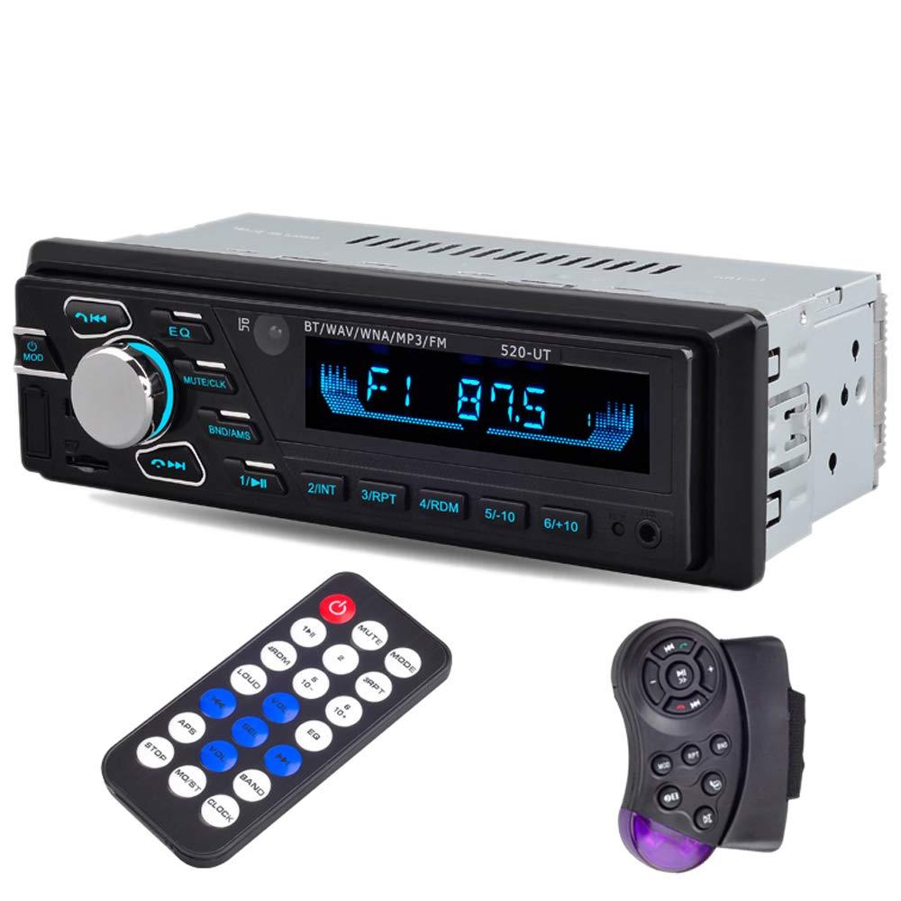 PolarLander Bluetooth Autoradio-Autoradio-Autoradio-Stereo In-Strich 1 Din FM Aux-Eingangsempfä nger SD USB-ISO-Verbindungsstü ck