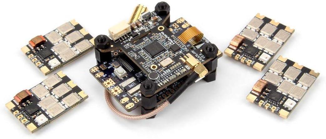 Tivollyff Holybro Kakute F7 AIO OSD BECフライトコントローラー&Atlatl HV V2 FPVトランスミッター&4PCS 65A BL_32 Tekko32 F3 ESC RCドローン用