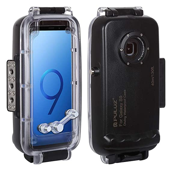 release date: 2c9aa bdef4 PULUZ 40m / 130ft Smartphone Waterproof Case for Samsung Galaxy S9 Android  8.0 Deep Sea Diving Case Support Shockproof Snowproof Dirtproof IP68 ...