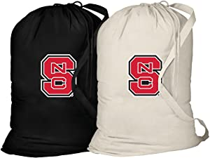 Broad Bay NC State Laundry Bag -2 Pc Set- NC State Wolfpack Clothes Bags