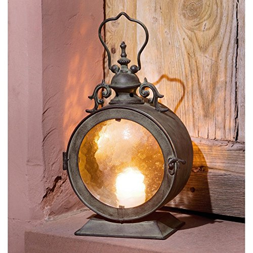 HGC Metal Round Hanging Lantern by HGC