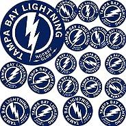 Tampa Bay Lightning Team NHL National Hockey League Sticker Vinyl Decal Laptop Water Bottle Car Scrapbook (Typ