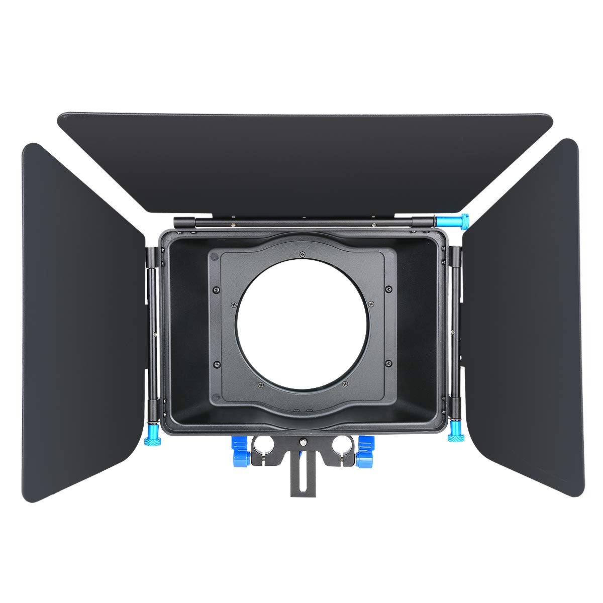 CINEPIECE Pro DSLR Digital Matte Box Sunshade for Follow Focus System 15mm Rail Rod Rig,Movie Kit Film Making System,Video,DSLR Camera Cages, Nikon, Canon,Sony,Camcorder, DVR, DV, Recorder by CINEPIECE