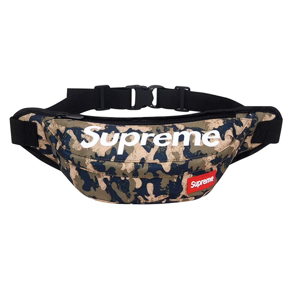 Oyoco Fashion Fanny Pack Waist Bags Creative Stomach Medicine Art Fanny Pocket Adjustable Hip Bag Waist Pack (navy)
