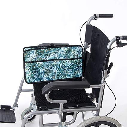 HANSHI HGJ255 - Bolsa lateral para silla de ruedas, bolsa ...
