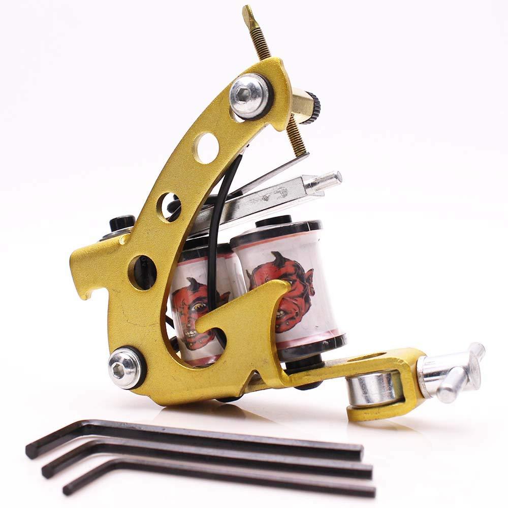 Máquina de tatuaje Cartucho de aleación de aluminio Pistola para ...