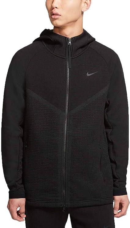activación pétalo Mareo  Amazon.com: Nike Sportswear Tech Pack Windrunner Men's Full-Zip Hoodie  Cj5147-010: Clothing