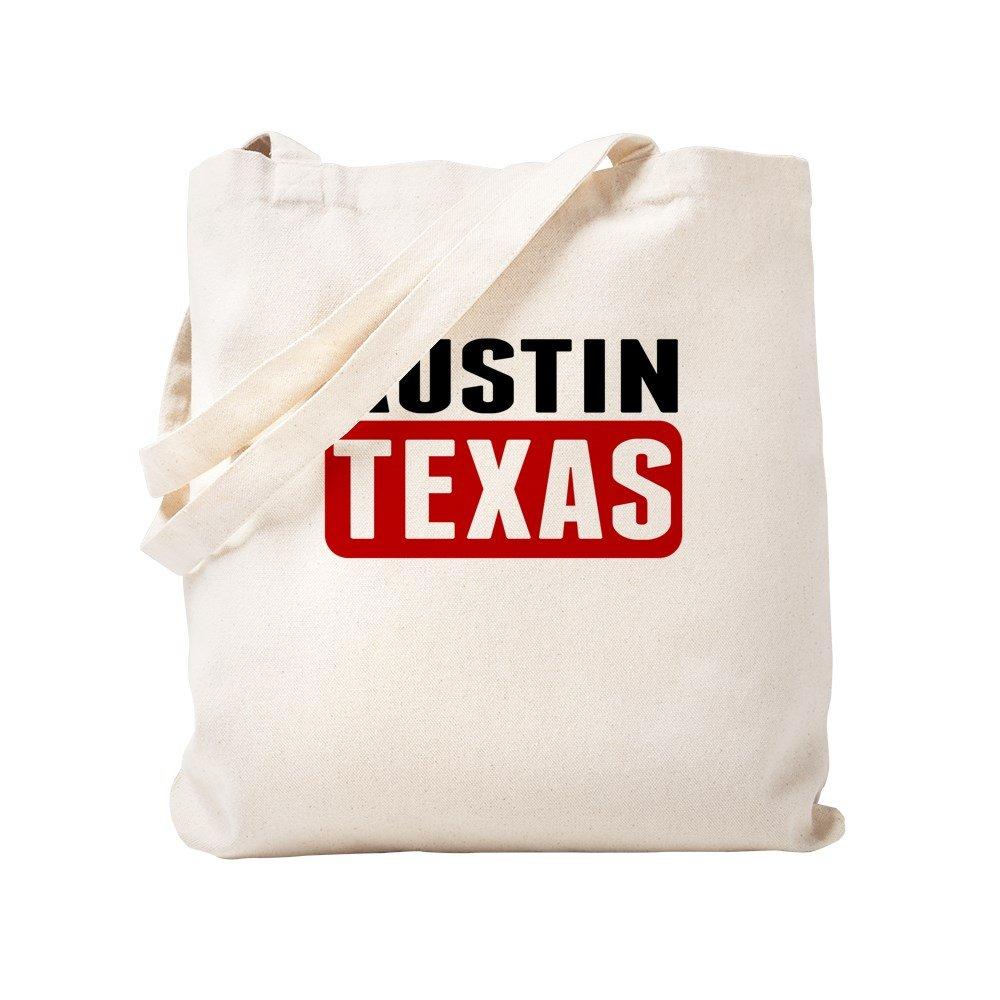 CafePress – Austin Texas – ナチュラルキャンバストートバッグ、布ショッピングバッグ S ベージュ 1613741223DECC2 B0773T7NGV  S