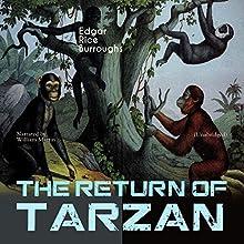 The Return of Tarzan (Tarzan: Narrated by William Martin 2) Audiobook by Edgar Rice Burroughs Narrated by William Martin