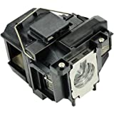 Electrified Replacement Projector Lamp With Housing ELPLP67 for Epson Projectors