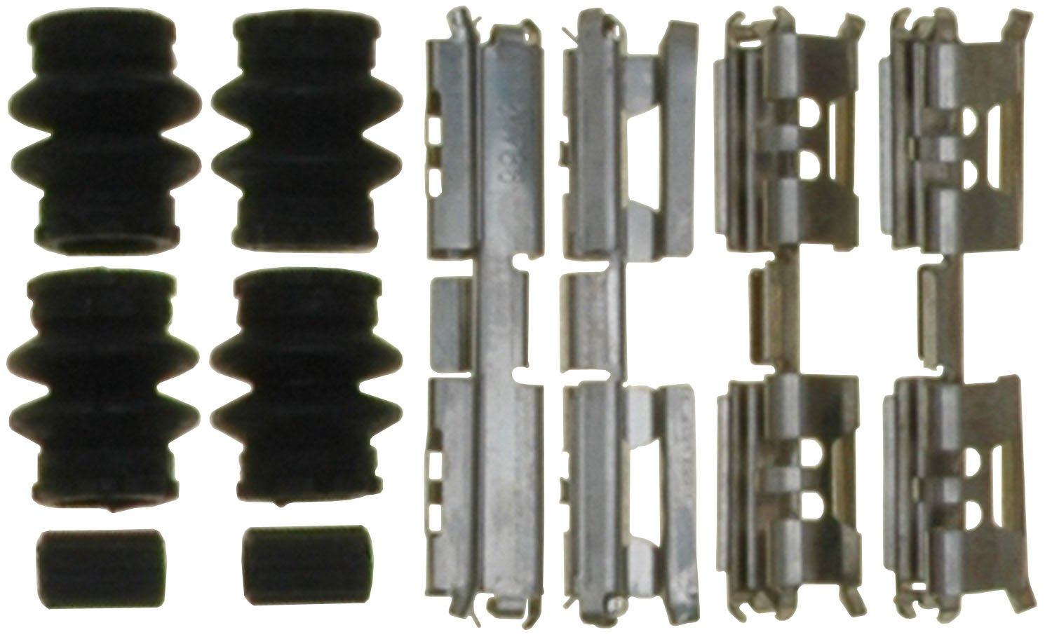 Seals and Bushings ACDelco 18K2455 Professional Rear Disc Brake Caliper Hardware Kit with Clips