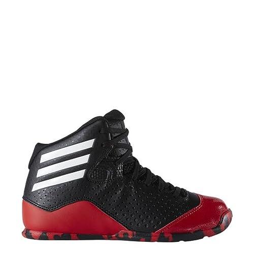 adidas NXT LVL SPD IV K, Zapatillas de Baloncesto Unisex niños, Negro/Blanco