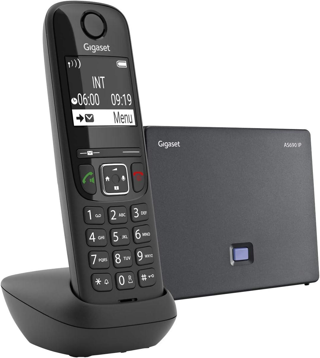 GIGASET COMMUNICATIONS ITALIA INALÁMBRICO 2 VOIPe431 Anal. A540IP AS690IPBLACK: Amazon.es: Electrónica