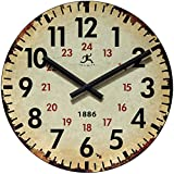 Infinity Instruments Vintage 1886 Clock, Beige Review
