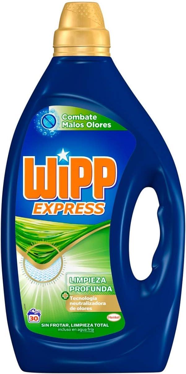 Wipp Express Gel Anti Olores - 30 Lavados: Amazon.es: Salud y ...