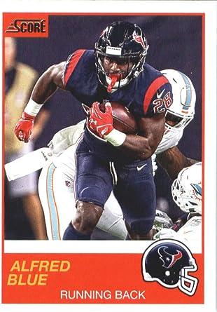 Amazon.com: 2019 Score #44 Alfred Blue Houston Texans Football ...