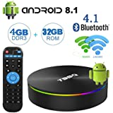 Android TV Boxes,T95Q Android 8.1 TV Box with...