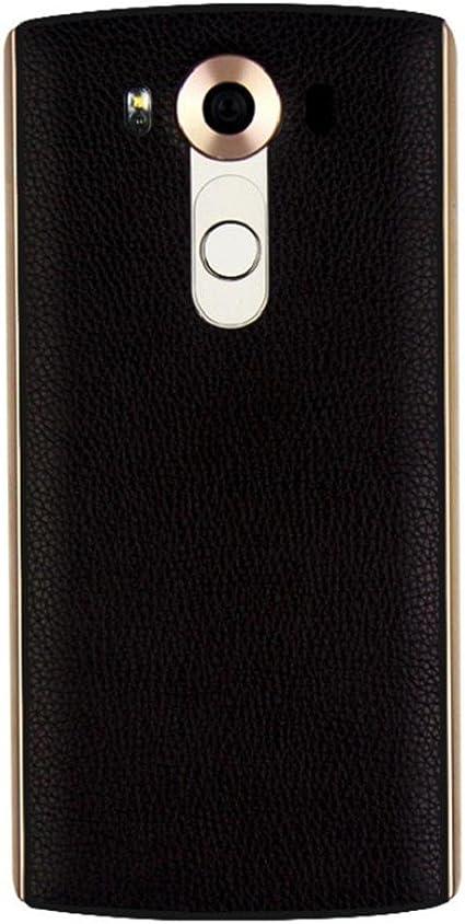Tongshi Para LG V10,Cuero Qi cargador de carga inalámbrica ...