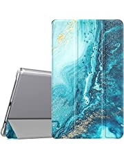 TiMOVO Case for Samsung Galaxy Tab A7 Lite 8.7 2021 (SM-T220/T225), Slim Lightweight Translucent Frosted Hard Back Tri-fold Protective Cover Shell for Galaxy Tab A7 Lite 8.7 inch Tablet 2021, Gilding