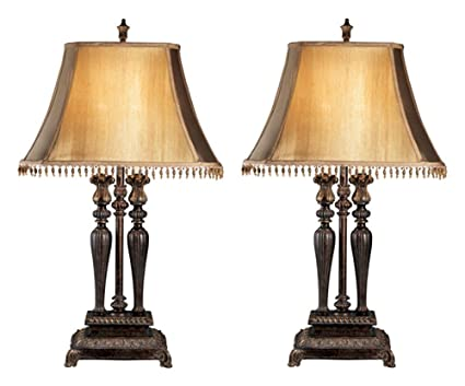 accessories lamps ashley pair by brown color lamp night