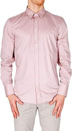 Antony Morato Luxury Fashion Hombre MMSL00375FA450001PINK Rosa Camisa | Temporada Outlet: Amazon.es: Ropa y accesorios