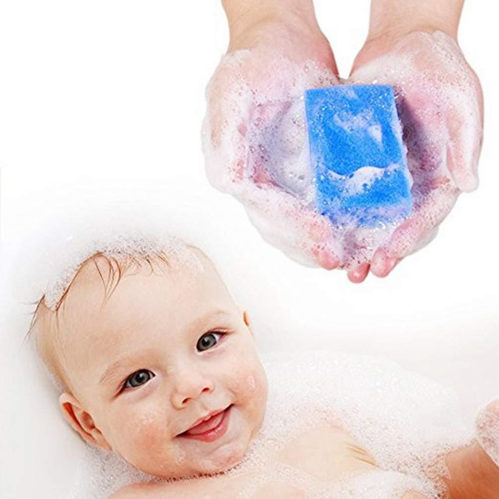 Beaupretty 5 St/ücke Baby Badeschw/ämme Weichen Schaum Sensorischen Schrubber K/örper Haar Kopfhaut Reinigung Schrubber Pinsel