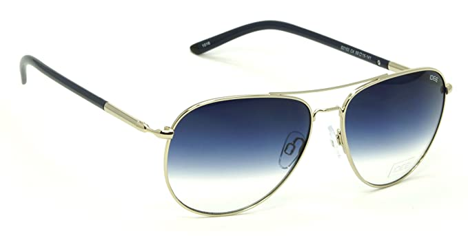 326e234c1ea70 Image Unavailable. Image not available for. Colour  IDEE Blue Shaded Medium  Aviator Sunglasses